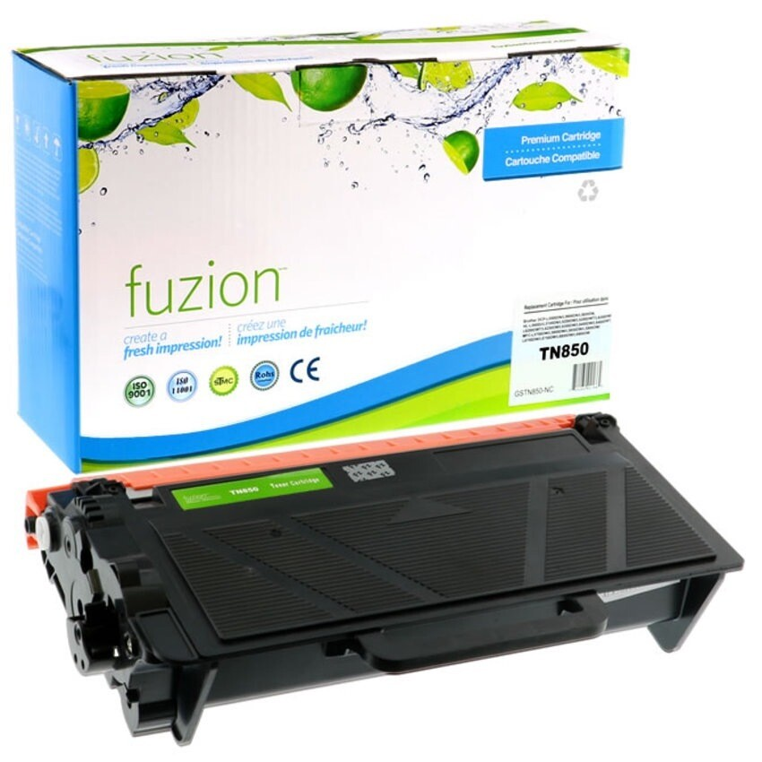 Compatible Laser Cartridge, 8K Pages, Black (Brother TN-850)