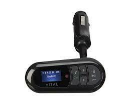 VITAL Bluetooth® FM Transmitter - Black