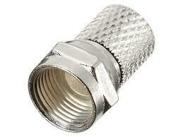 VITAL Silver-Plated F-56 Twist On Coax Cable Connector