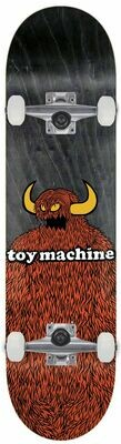 Toy Machine Complete Furry Monster  (8.25
