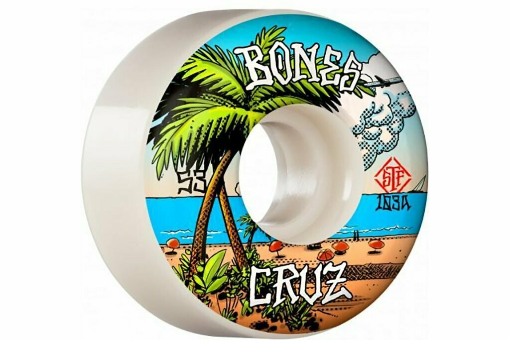 Bones STF Wheels - Cruz Buena Vida V2 Locks 103A (53)
