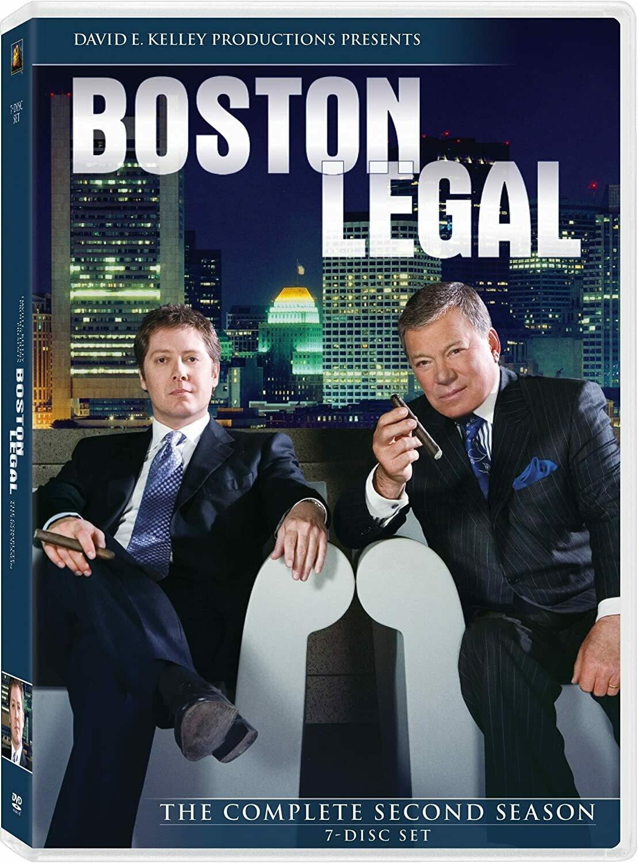 Boston Legal Season Two (7 day rental)