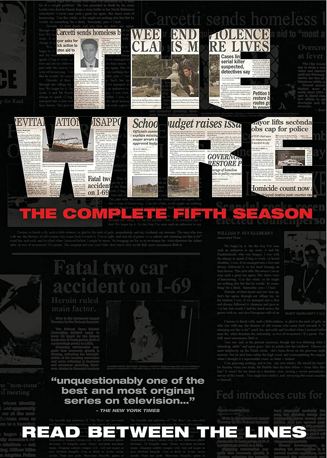 Wire Season Five (7 day rental)