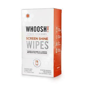 Whoosh Screen Shine Wipes 30 Pack