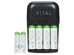 VITAL Battery Charger with USB