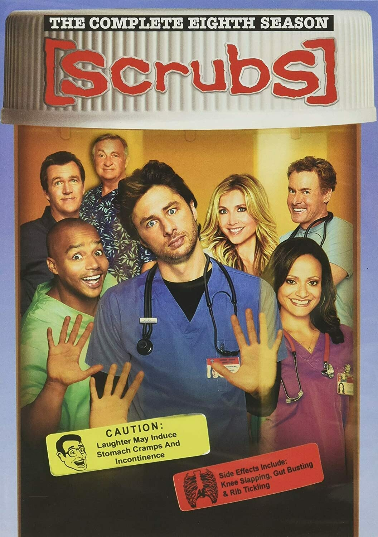 Scrubs Season Eight (7 day rental)