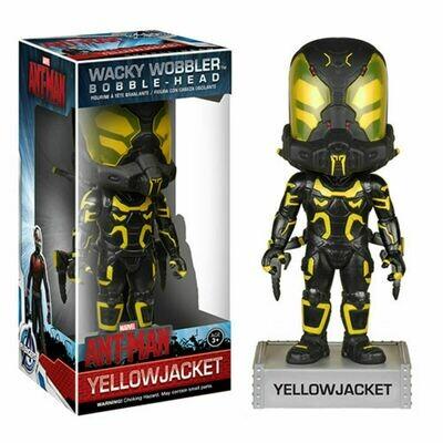 Marvel Ant-Man Wacky Wobbler Yellow Jacket Bobble Head Figure NEW Toys Ant Man