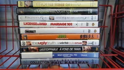 10 Previously Viewed Movies For $10.00
