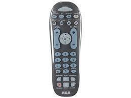 RCA 3-Device Universal Remote - Grey
