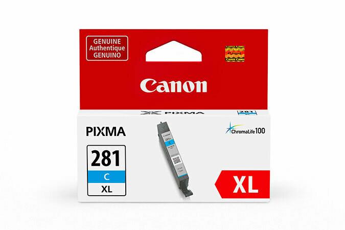 Canon CLI-281XL Ink Cartridge - Cyan