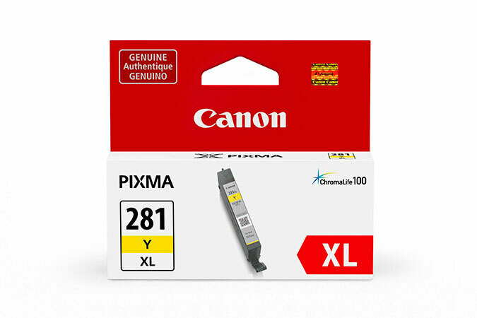 Canon CLI-281XL Ink Cartridge - Yellow