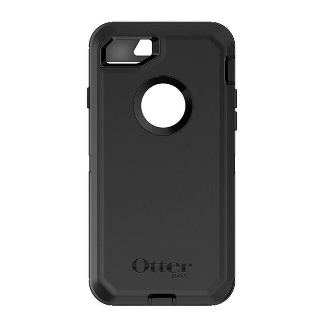 Otterbox - Defender Protective Case Black for iPhone SE 2020/8/7