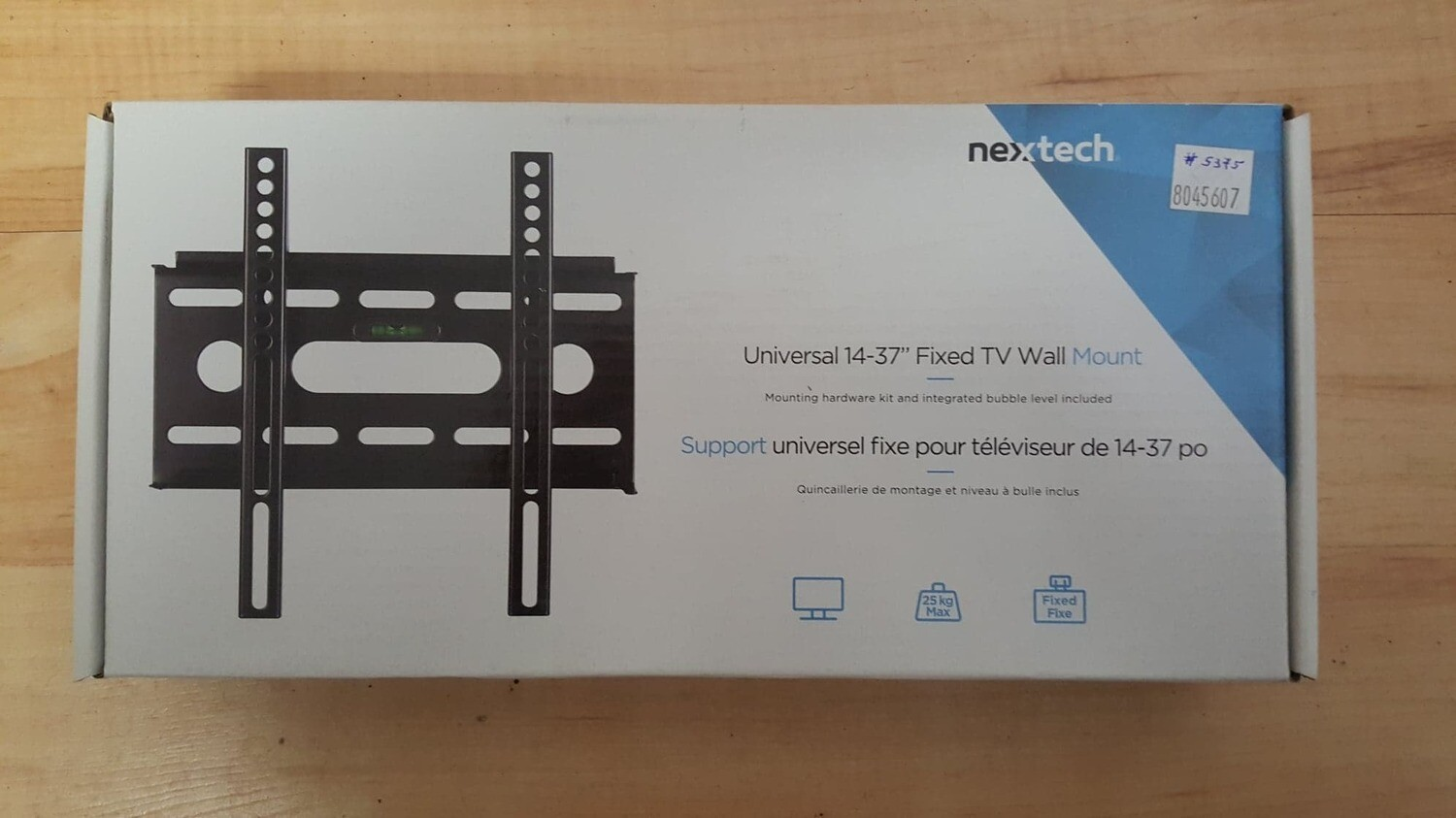 "Nextech Universal 14-37"" Fixed TV Wall Mount (New In Box)"