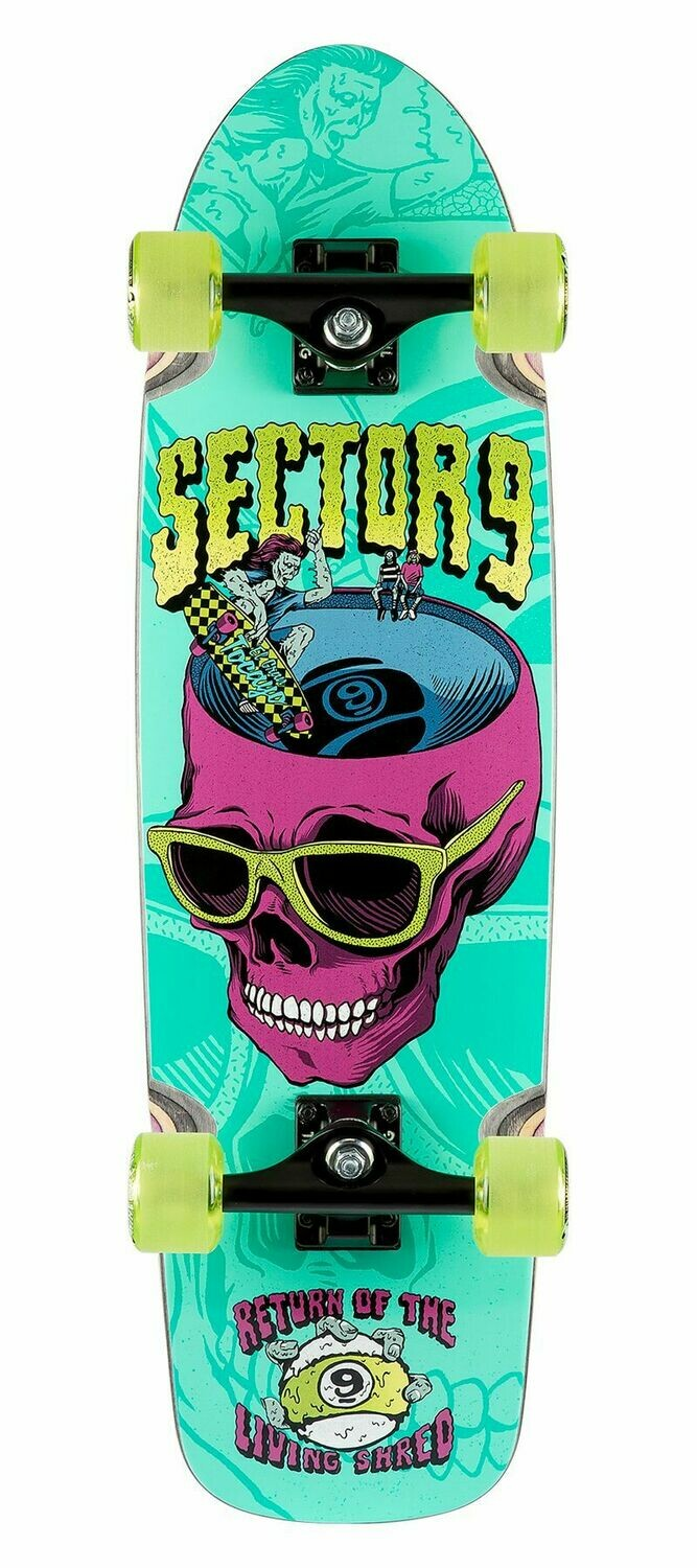 "Sector 9 Complete (30.5"" x 8.6"") Return of the Shred"