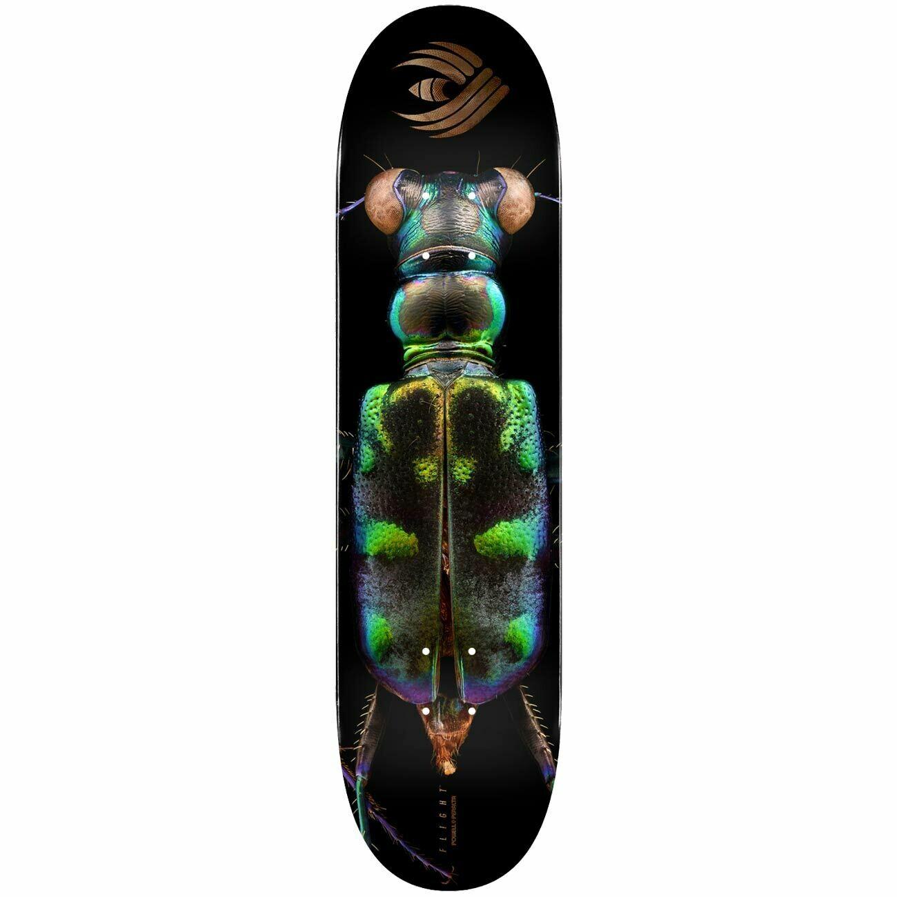 Powell Peralta Flight® Skateboard Deck BISS Tiger Beetle (8.25 x 31.95)