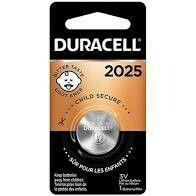 Duracell 3V 2025 Lithium Coin Battery (1-Pack)