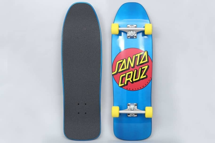 "Santa Cruz Complete Classic Dot 80's Style Blue 9.35"" x 31.7"""