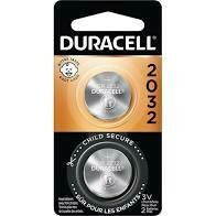 Duracell 3V CR2032 Lithium Coin Battery - 2-Pack