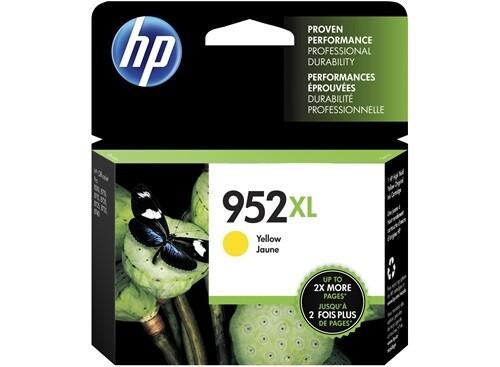 HP 952XL Yellow High Yield Original Ink Cartridge