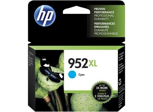 HP 952XL Cyan High Yield Original Ink Cartridge
