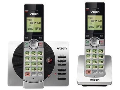 VTech CS6929-2 DECT 6.0 Cordless Phone with Caller ID, Call Block, & Full Duplex Handset Speakerphones (2 Handsets)