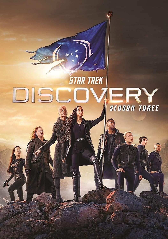 Star Trek Discovery Season Three (7 day Dvd rental)