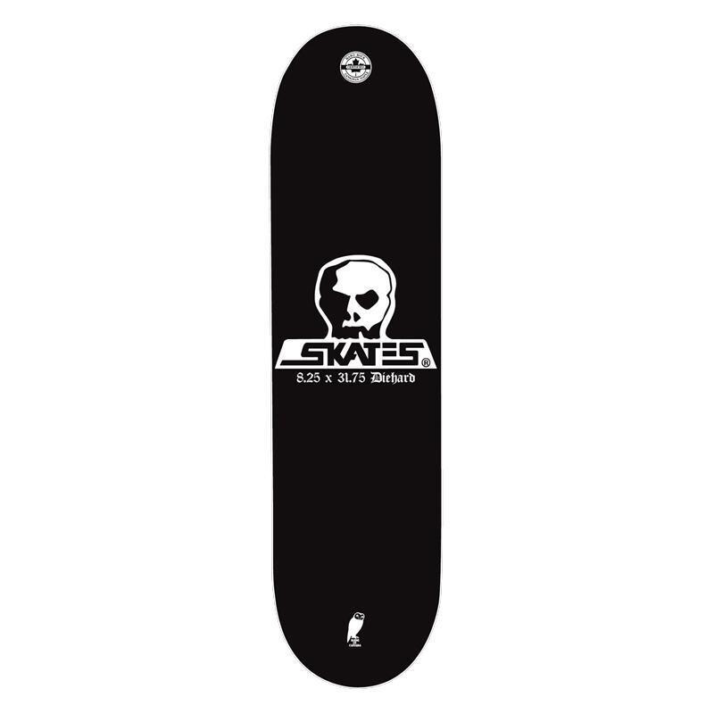 "Skull Skates Deck Diehard 8.25"" x 31.75"""