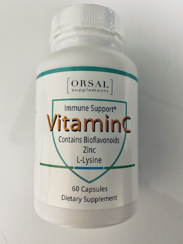 Vitamina C IMMUNE 60c