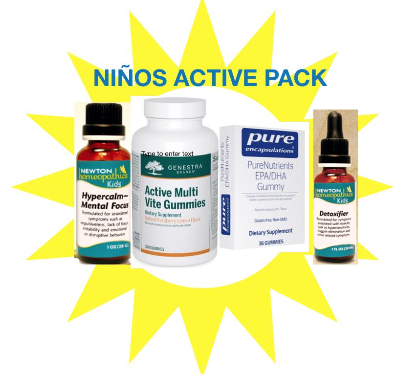 NINOS ACTIVE PACK