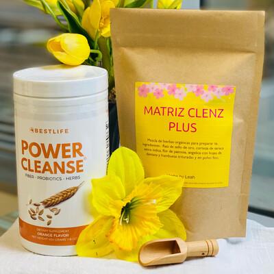 power cleanse + Matriz cleanz Plus