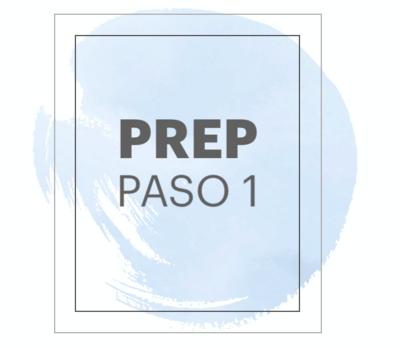"""PASO 1    PREP HOMBRE """"PURE"""""""
