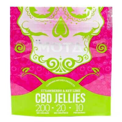 Mota Key Lime CBD Jellies