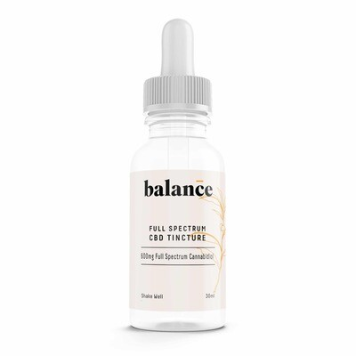 Herb Angels Balance – 600mg Full Spectrum CBD Tincture (30ml)