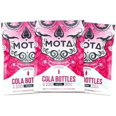 Mota Cola Bottles 100 MG THC 20 MG CBD