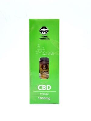 Yoda Extracts - 1000 MG CBD Distillate Syringe