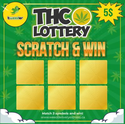 Tweeder Scratch Lottery!