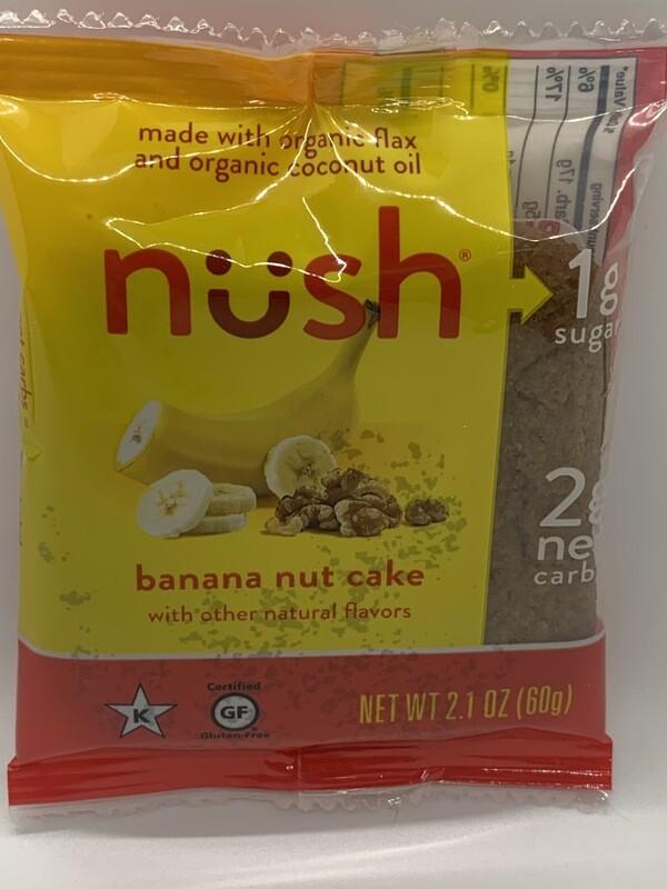 Nush Banana Nut Cake