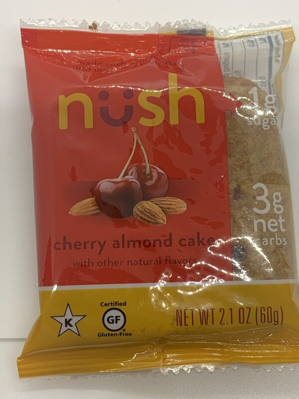 Nush Cherry Almond Cake
