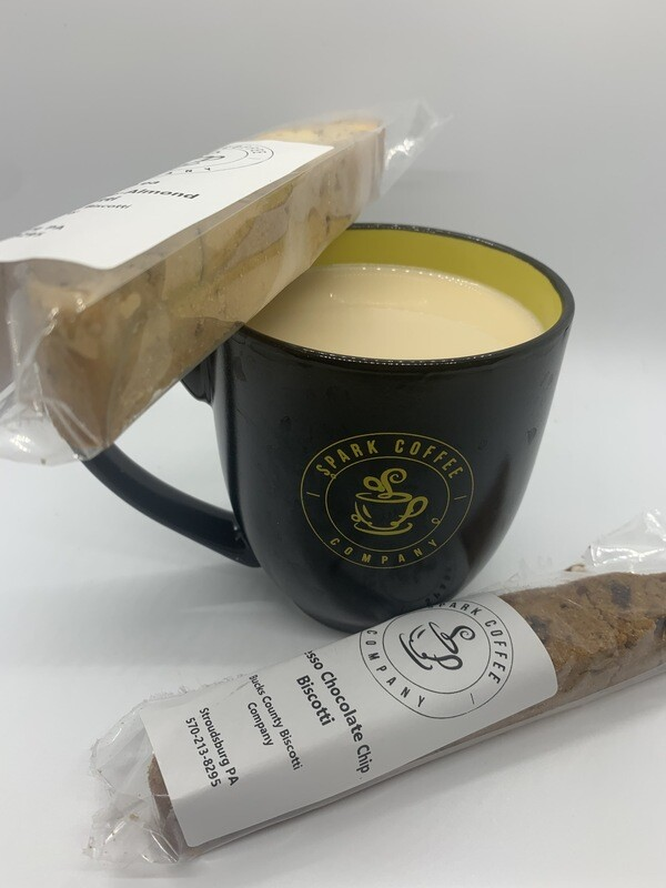 Locally baked Biscotti