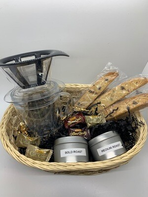 Pour Over Gift Basket