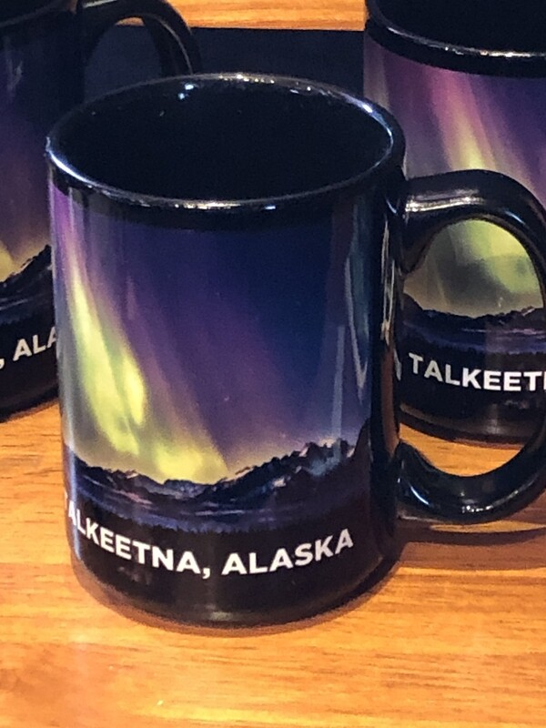 Aurora Dora - Talkeetna, Alaska Coffee Mug