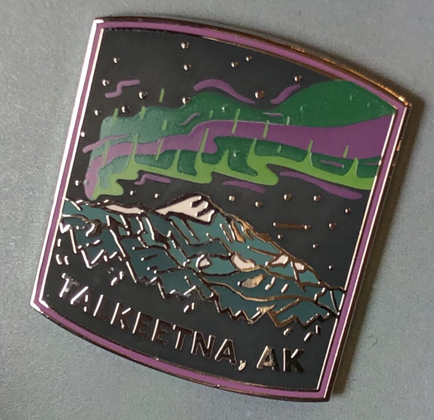 Talkeetna, Alaska Collector's Pin