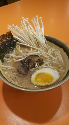 Shiitake & Enoki Mushroom Ramen