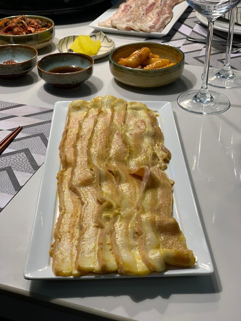 CURRIED SAMGYUPSAL US Pork Belly