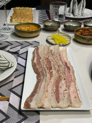 GARLIC & SALT SAMGYUPSAL US Pork Belly
