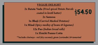 Bombay Street Veggie Pack