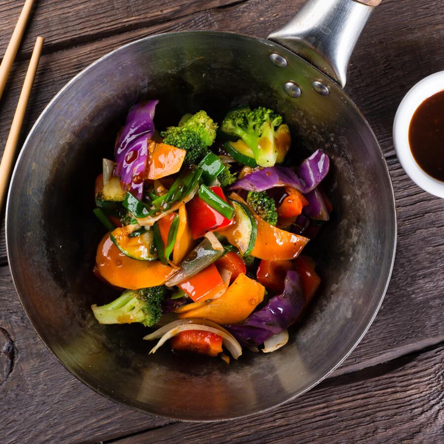 Овощи — wok