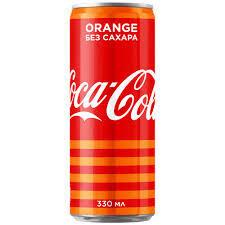 Coca Cola Zero апельсин