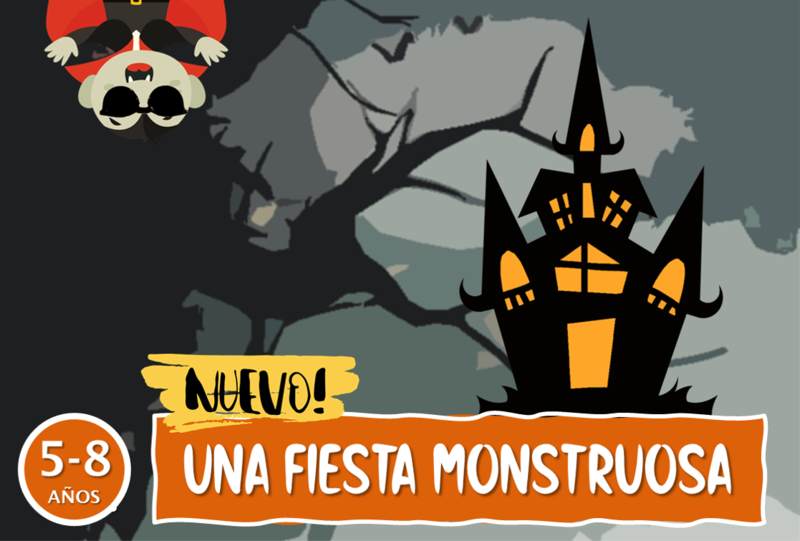 Escape Room - ¡Una Fiesta Monstruosa! (Personalizado)