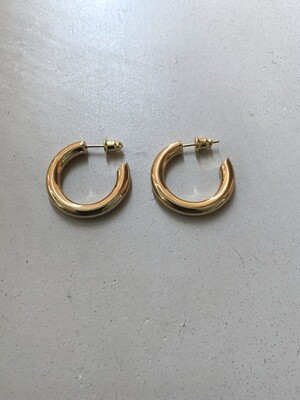 By LC Studio Small hoop earrings